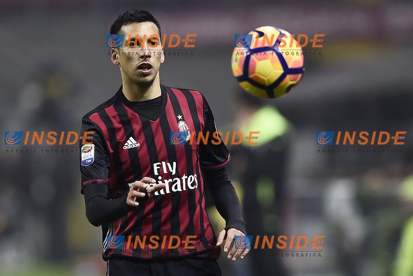 Milano 19-02-2017 Stadio Giuseppe Meazza Football Serie A 2016/2017 Milan - Fiorentina foto Image Sport/insidefoto<br /> Leonel Vangioni