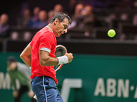 Rotterdam, The Netherlands, Februari 8, 2016,  ABNAMROWTT, Ivan Dodig (CRO)<br /> Photo: Tennisimages/Henk Koster