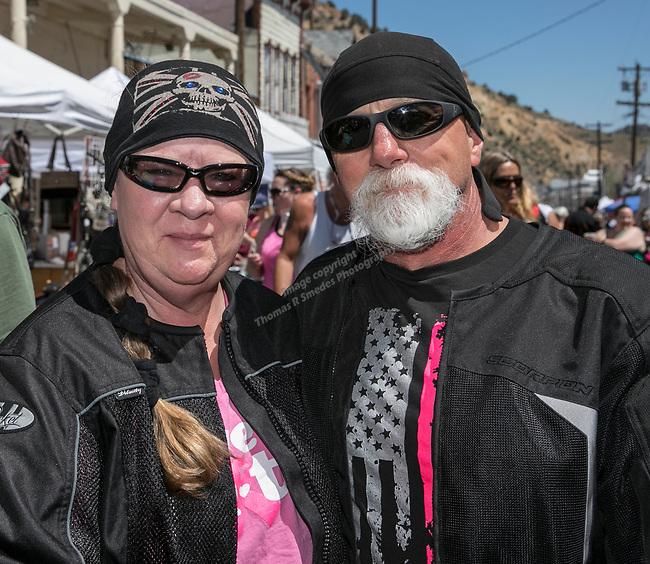 Brian and Donna from Reno at the 34th Annual Chili on the Comstock Cook Off in Virginia City on Sunday, May 21, 2017.