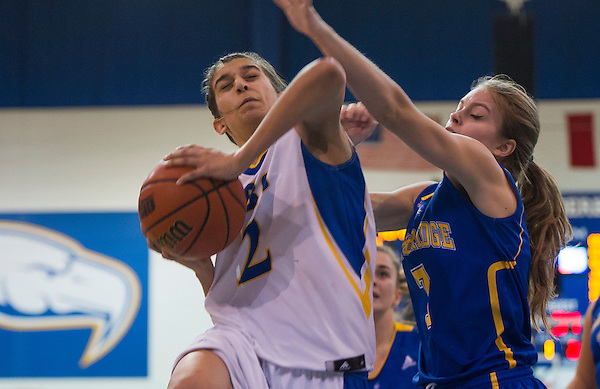 VANCOUVER,BC:NOVEMBER 8, 2016 -- UBC Thunderbirds University of Lethbridge Pronghorns during CIS Canada West Women's Basketball action at UBC in Vancouver, BC, January, 8, 2016. (Rich Lam/UBC Athletics Photo) <br />
