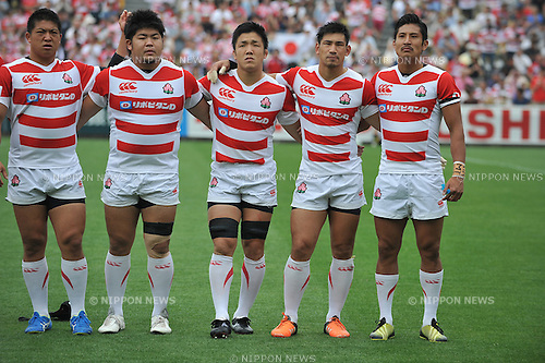 Japan team group (JPN), MAY 28, 2016 - Rugby : Asia Rugby Championship game between Japan 59-17 Hong Kong at Prince Chichibu Memorial Stadium in Tokyo, Japan. (Photo by AFLO)