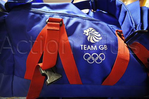 9.08.2010: The GB Youth Olympic Team and Officials. The British team prepare to fly to Singapore for the first ever Youth Olympics. Team GB Baggage all prepared for the trip to Singapore.