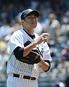 Hiroki Kuroda (Yankees),<br /> JULY 7, 2013 - MLB :<br /> Pitcher Hiroki Kuroda of the New York Yankees during the Major League Baseball game against the Baltimore Orioles at Yankee Stadium in The Bronx, New York, United States. (Photo by AFLO)