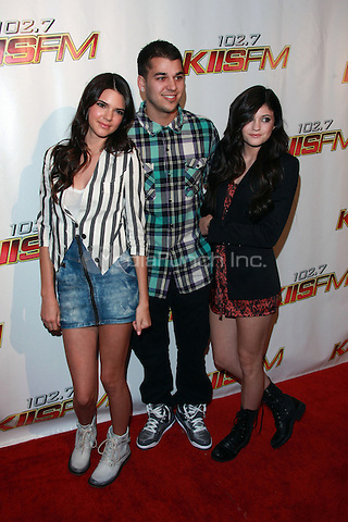 Kendall Jenner, Robert Kardashian and Kylie Jenner at KIIS FM's Wango Tango 2010 at Staples Center  in Los Angeles, California. May 15, 2010  Credit: Dennis Van Tine/MediaPunch