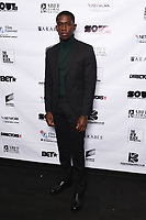 "Damson Idris<br /> arriving for the ""Farming"" screening as part of the S.O.U.L. Festival at the BFI Southbank, London<br /> <br /> ©Ash Knotek  D3517 30/08/2019"