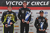 F4 US Championship<br /> Rounds 10-11-12<br /> Mid-Ohio Sports Car Course, Lexington, OH USA<br /> Saturday 12 August 2017<br /> Round 12: 8, Kyle Kirkwood, 86, Brendon Leitch, 39, Justin Sirgany<br /> World Copyright: Dan R. Boyd<br /> LAT Images