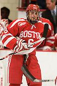 Joe Pereira (BU - 6) - The Boston University Terriers defeated the Harvard University Crimson 6-5 in overtime on Tuesday, November 24, 2009, at Bright Hockey Center in Cambridge, Massachusetts.