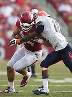 HAWGS ILLUSTRATED JASON IVESTER<br /> 09-05-15 Arkansas vs UTEP football