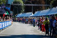 Picture by Alex Whitehead/SWpix.com - 28/09/2018 - Cycling - UCI 2018 Road World Championships - Innsbruck-Tirol, Austria - U23 Men's Road Race. Feed zone, shimano.