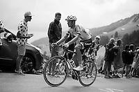Georg Preidler (AUT/Giant-Alpecin) up the Mont&eacute;e de Bisanne (HC/1723m/12.4km/8.2%)<br /> <br /> Stage 19:  Albertville &rsaquo; Saint-Gervais /Mont Blanc (146km)<br /> 103rd Tour de France 2016