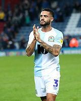 Blackburn Rovers' Derrick Williams at the end of todays match<br /> <br /> Photographer Rachel Holborn/CameraSport<br /> <br /> The EFL Sky Bet Championship - Blackburn Rovers v Aston Villa - Saturday 15th September 2018 - Ewood Park - Blackburn<br /> <br /> World Copyright &copy; 2018 CameraSport. All rights reserved. 43 Linden Ave. Countesthorpe. Leicester. England. LE8 5PG - Tel: +44 (0) 116 277 4147 - admin@camerasport.com - www.camerasport.com