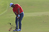 Jon Rahm (ESP) on the 15th fairway during the final round of the DP World Tour Championship, Jumeirah Golf Estates, Dubai, United Arab Emirates. 18/11/2018<br /> Picture: Golffile | Fran Caffrey<br /> <br /> <br /> All photo usage must carry mandatory copyright credit (© Golffile | Fran Caffrey)