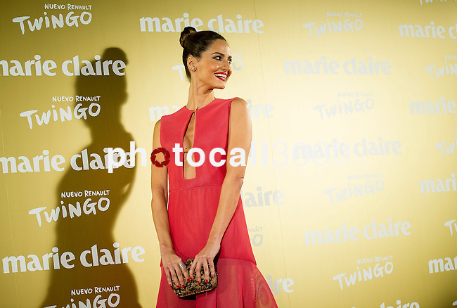 Supermodel Ariadna Artiles poses during a photo session at the opening of a Marie Claire prix awards  in Madrid. 2014/11/19. Samuel de Roman / Photocall3000