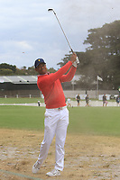 Tiger Woods (USA) on the 10th fairway during the First Round - Four Ball of the Presidents Cup 2019, Royal Melbourne Golf Club, Melbourne, Victoria, Australia. 12/12/2019.<br /> Picture Thos Caffrey / Golffile.ie<br /> <br /> All photo usage must carry mandatory copyright credit (© Golffile | Thos Caffrey)