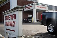 Ohio, Usa. Oktober 2016. Nesten 25% av befolkningen i Ohio har resept på opiatmidler. Fotografier til dokument om valget i Usa og Appalachene. Foto: Christopher Olssøn