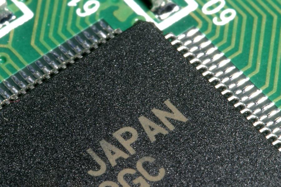 Detail of circuit board