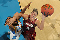 January 10, 2010.  Stanford's Jayne Appel in action against UCLA.  The Cardinal defeated the Bruins, 65-61.LOS ANGELES, CA - JANUARY 10:  Jayne Appel of the Stanford Cardinal during Stanford's 65-61 win against the UCLA Bruins on January 10, 2010 at Pauley Pavilion in Los Angeles, California.