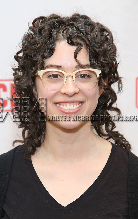 "Adina Verson attends the ""Indecent"" Media Day at Playwrights Horizons on March 13, 2017 in New York City."
