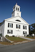 Candia Congregational Church...Located  in Candia, New Hampshire USA which is part of scenic New England