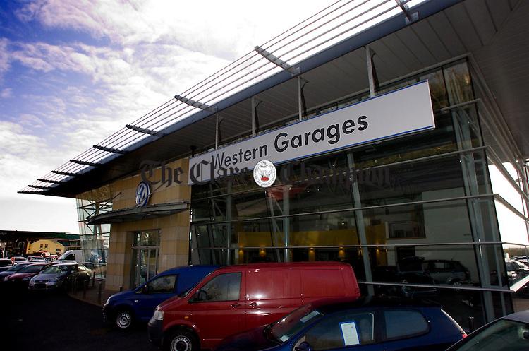 Walls Western Garages Quin Road Ennis.Pic Arthur Ellis.