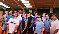 MONICA PUIG (PUR), FELICIANO LOPEZ (ESP)<br /> <br /> ELLESSE ACTIVATION, 29TH JUNE 2017   <br /> <br /> RAYNES PARK DAVID LLOYD LEISURE<br /> <br /> <br /> &copy; TENNIS PHOTO NETWORK