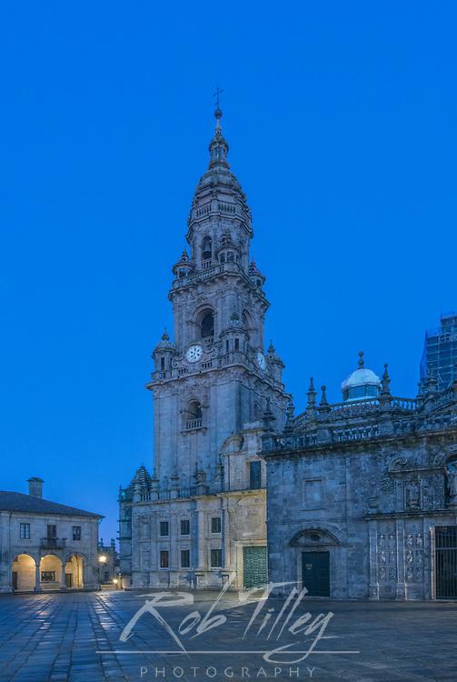 Spain, Satiago de Compostela, Cathedral