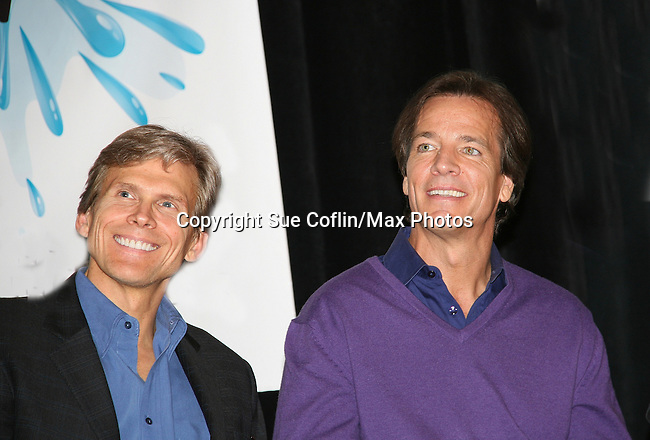 Grant Aleksander and Bradley Cole - So Long Springfield celebrating 7 wonderful decades of Guiding Light Event (Saturday afternoon) come to see fans at the Hyatt Regency Pittsburgh International Airport, in Pittsburgh, PA. during the weekend of October 24 and 25, 2009. (Photo by Sue Coflin/Max Photos)
