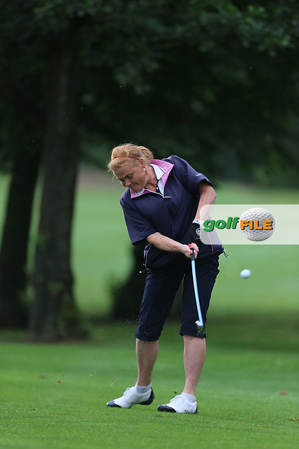 Lorna Duffy (Strabane) during the Ulster Mixed Foursomes Final, Shandon Park Golf Club, Belfast. 19/08/2016<br /> <br /> Picture Jenny Matthews / Golffile.ie<br /> <br /> All photo usage must carry mandatory copyright credit (&copy; Golffile | Jenny Matthews)