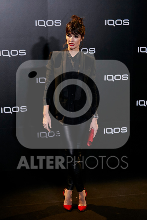 Paz Vega attends to IQOS3 presentation at Palacio de Cibeles in Madrid, Spain. February 13, 2019. (ALTERPHOTOS/A. Perez Meca)