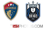Cary, North Carolina - July 8, 2017: North Carolina Courage 2-0 Seattle Reign FC at Sahlen's Stadium at WakeMed Soccer Park in a 2017 NWSL Regular Season game. Photos available through www.ISIphotos.com