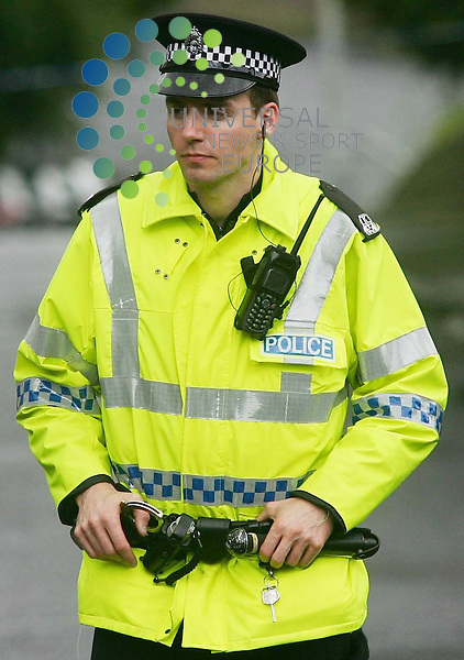 Strathclyde Police confirmed today its officers have been asked to use alternative speed detectors while the concerns over the impact of the police radio system Airwave (pictured) on the device were investigated.	<br /> Road policing units with all forces in Scotland have been advised of a potential issue with three speed detection systems<br /> Acpos spokesman Ch Insp Andy Orr, of the force's road policing department, said: &quot;There is a suggestion that the Vascar system might be affected by Airwave radio waves and the matter is currently being investigated by Strathclyde Police.<br /> Picture:Universal News And Sport (Scotland) 4/1/09