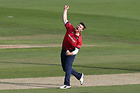 Matt Coles of Essex celebrates taking the wicket of Sam Billings during Essex Eagles vs Kent Spitfires, Royal London One-Day Cup Cricket at The Cloudfm County Ground on 6th June 2018