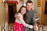 Mike Lynch with his daughter Jessica (10) who are dancing in the Kerin's O'Rahilly's GAA club 'Strictly Come Dancing' event.