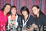 At the Boston Tea Party in the Waterville Lake Hotel last Friday in aid of The Chernobyl Childrens Project International were l-r Susan Goggin, Monica O'Shea, Bunty Donnelly & Ger Fitzpatrick.