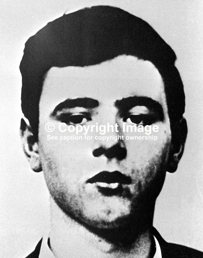 Gerald McDade, North Belfast, N Ireland, 23 years, married, Roman Catholic, who was shot dead 21st December 1971 by British soldiers whilst attempting to escape from custody. The army claimed there was a shouted warning but this was denied by locals. The Republican News of 9th January 1972 acknowledged that Gerald McDade was a staff captain in the Provisional IRA. 197112216789<br />