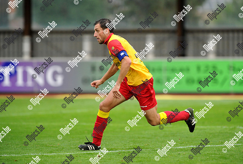 2013-08-24 / Voetbal / seizoen 2013-2014 / KFC Duffel / Jan Verachtert<br /><br />Foto: Mpics.be