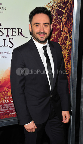 New York, NY: December 7: J.A. Bayona attends 'A Monster Calls' New York Premiere at AMC Loews Lincoln Square 13 theater on December 7, 2016 in New York City.@John Palmer / Media Punch
