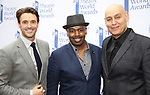 Michael Xavier, Lance Roberts and Fred Johanson attends the 73rd Annual Theatre World Awards at The Imperial Theatre on June 5, 2017 in New York City.