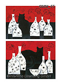 Kate, CUTE ANIMALS, LUSTIGE TIERE, ANIMALITOS DIVERTIDOS, paintings+++++Cats & dogs page 11,GBKM65,#ac#, EVERYDAY