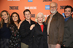 "Carole Rothman, Bess Wohl, Ashley Park, Ben McKenzie, Jane Alexander, James Cromwell and Michael Urie during the Second Stage Theater presents ""Grand Horizons"" at the Marquis Hotel on December 11, 2019 in New York City."