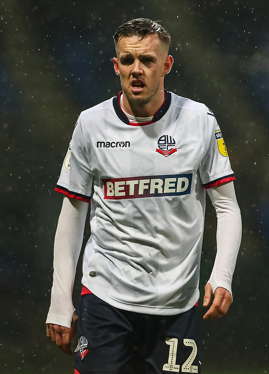 Bolton Wanderers' Craig Noone<br /> <br /> Photographer Andrew Kearns/CameraSport<br /> <br /> The EFL Sky Bet Championship - Bolton Wanderers v Leeds United - Saturday 15th December 2018 - University of Bolton Stadium - Bolton<br /> <br /> World Copyright © 2018 CameraSport. All rights reserved. 43 Linden Ave. Countesthorpe. Leicester. England. LE8 5PG - Tel: +44 (0) 116 277 4147 - admin@camerasport.com - www.camerasport.com