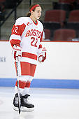 Jill Cardella (BU - 22) - The Boston University Terriers defeated the Providence College Friars 5-3 on Saturday, November 14, 2009, at Agganis Arena in Boston, Massachusetts.