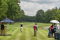 Becky Morgan (IRE) watches her tee shot on 10 during round 2 of the U.S. Women's Open Championship, Shoal Creek Country Club, at Birmingham, Alabama, USA. 6/1/2018.<br /> Picture: Golffile | Ken Murray<br /> <br /> All photo usage must carry mandatory copyright credit (&copy; Golffile | Ken Murray)