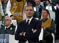 Football Soccer: UEFA Champions League semifinal second leg Juventus - Monaco, Juventus stadium, Turin, Italy,  May 9, 2017. <br /> Juventus coach Massimiliano Allegri waits for the start of the Uefa Champions League football match between Juventus and Monaco at Juventus stadium, on May 9, 2017.<br /> UPDATE IMAGES PRESS/Isabella Bonotto