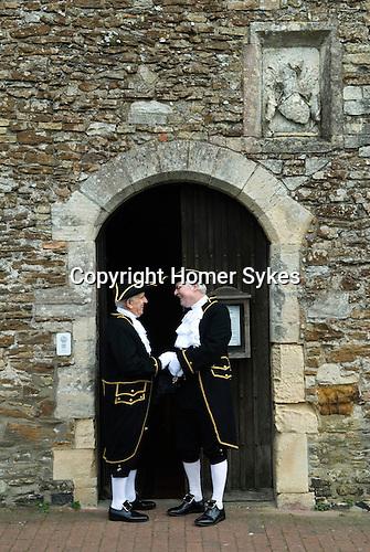 Mayoring Ceremony Winchelsea East Sussex.
