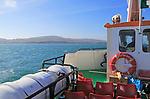 Cape Clear Island, County Cork, Ireland, Irish Republic from small ferry boat service