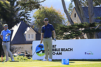 Seamus Power (IRL) on the 11th tee at Pebble Beach course during Friday's Round 2 of the 2018 AT&amp;T Pebble Beach Pro-Am, held over 3 courses Pebble Beach, Spyglass Hill and Monterey, California, USA. 9th February 2018.<br /> Picture: Eoin Clarke | Golffile<br /> <br /> <br /> All photos usage must carry mandatory copyright credit (&copy; Golffile | Eoin Clarke)