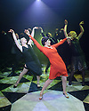 """London, UK. 04.08.2015. Danielle Tarento Productions presents """"Grand Hotel"""", at Southwark Playhouse. Picture shows: The Company, with Victoria Serra (centre). Photograph © Jane Hobson."""