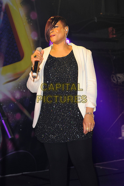 LONDON, ENGLAND - November 23: Gabrielle (Louisa Gabrielle Bobb) performs in concert at G-A-Y, Heaven Nightclub on November 23, 2013 in London, England<br /> CAP/MAR<br /> &copy; Martin Harris/Capital Pictures