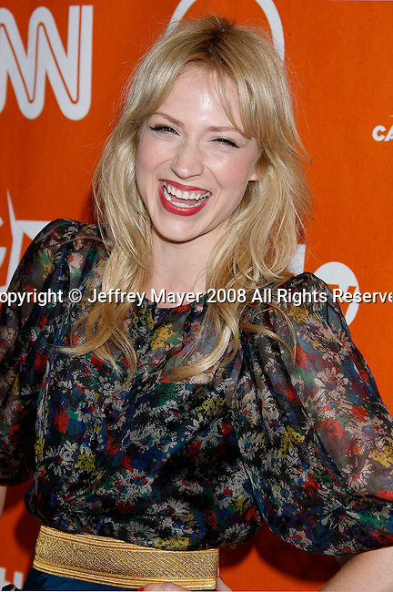 Actress Beth Reisgraf arrives at the Turner Broadcasting TCA Party at The Oasis Courtyard at The Beverly Hilton Hotel on July 11, 2008 in Beverly Hills, California.